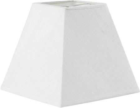 Bilde av PR Home Kvadrat Lampeskjerm Lin Offwhite 26 cm
