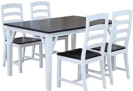 Falsterbo Lyon matbord Lyon matbord ? 180 cm + 45 cm klaff