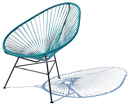 OK Design Acapulco chair - mörkblå