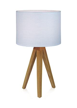 Bilde av Markslöjd Kullen Bordlampe Eik/Hvit 22,5 cm