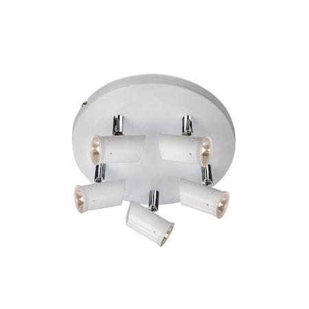 Bilde av Markslöjd Madrid Taklampe 5 Lys Hvit IP21