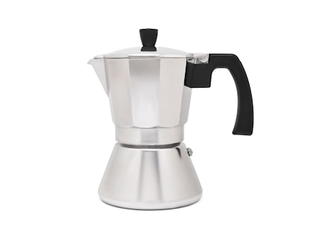 Tivoli espressokanna aluminium 6 koppar H18cm Bredemeijer