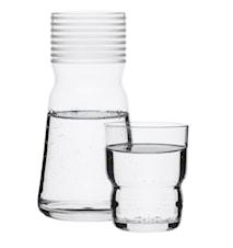 Karaff med glas