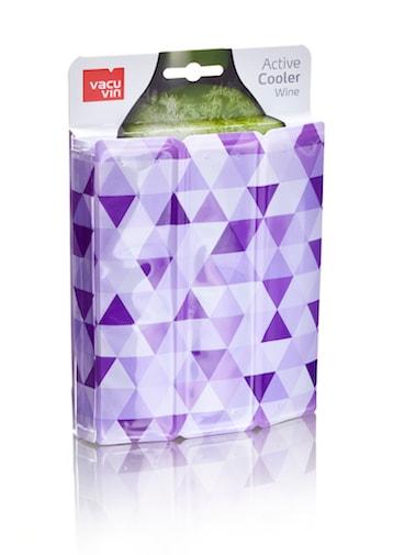 Active Wine Cooler Diamond Purple