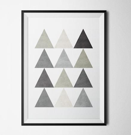 Bilde av Konstgaraget Triangels 2 poster