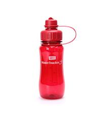 Vattenflaska Röd 0,5 L