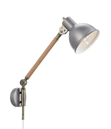 Bilde av Archimeded Vegglampe Eik/Aluminium