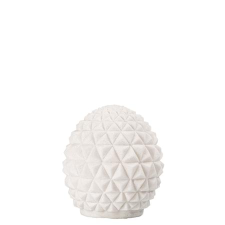 Bordslampa Globe Vit h: 26 cm