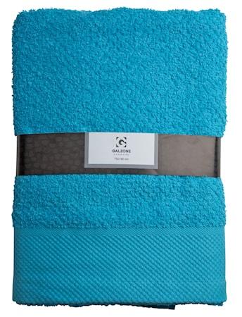 Galzone Håndklæde - 100% bomuld - 400 g - Turkis - L 140,0cm - B 70,0cm - Sleeve - Stk. thumbnail