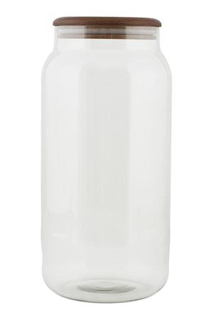Förvaringsburk Oak 14x28 cm - Klar