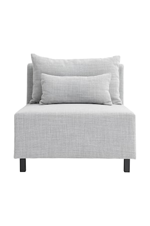 Soffa Light Grey Middle