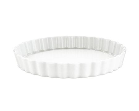 Pajform nr. 9 vit, Ø 27,5 cm