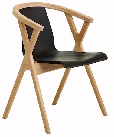 CASØ Furniture Mr X stol - Svart plast