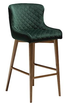 Dan Form Denmark Barstol Vetro Velour - Emerald Grön