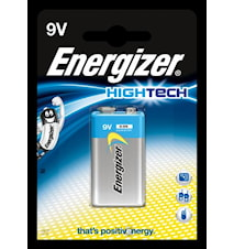 Batteri Energizer HighTech 6LR 61, 9 V, 1 st