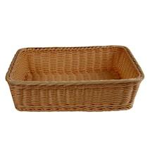 Brödkorg 38x29 cm, brun