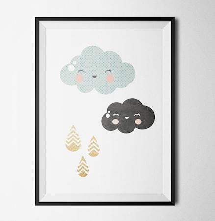 Bilde av Konstgaraget Clouds poster