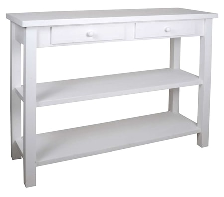 Ib Laursen Console 2 drawers 2 shelves skänk