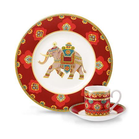 Villeroy & Boch Samarkand Rubin Fat espresso Kopp 12cm