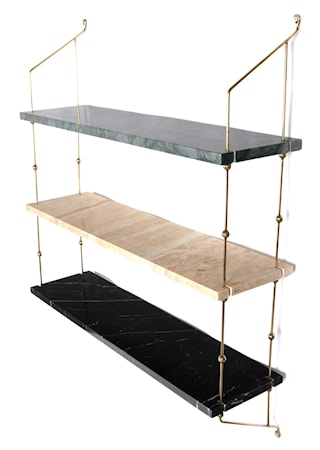 OX DENMARQ Morse shelve hylla – Green/sand/black/brass