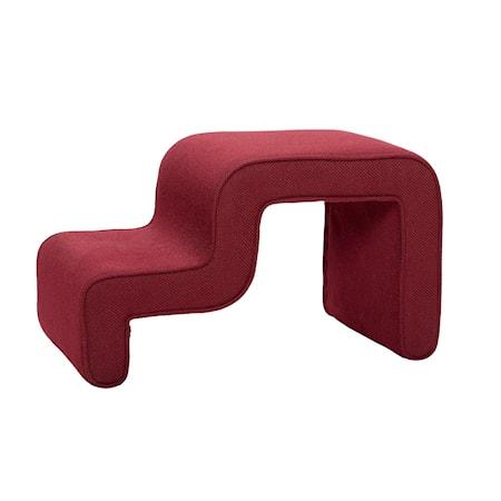Sittpuff Röd 72 cm