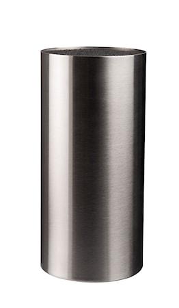 Dorre Veitsi lohko harjattu pinta ruostumaton teräs korkeus 22,5 cm