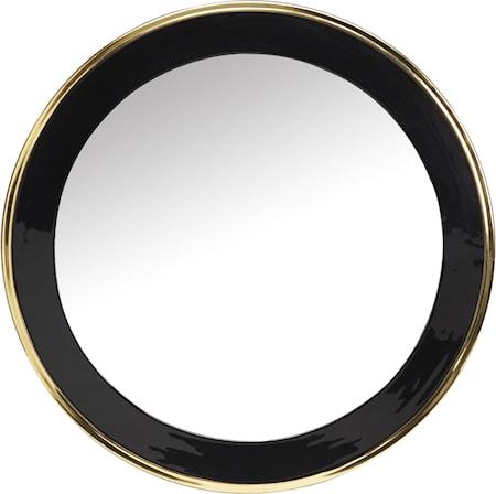 Bilde av Blanka speil Svart/gull 71cm
