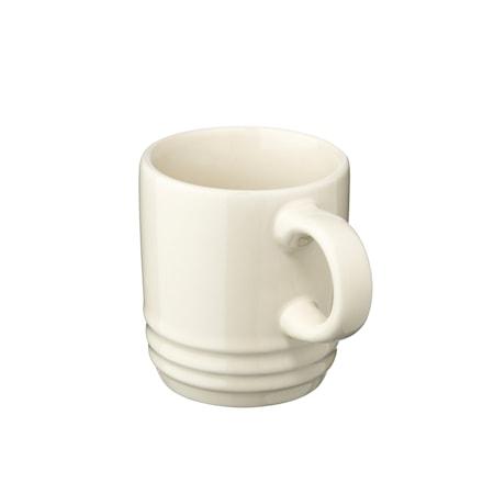 Le Creuset Espressokuppi 70 ml Creme