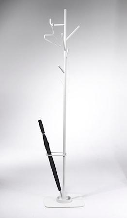 SMD Design Alfred klädhängare med paraplyställ - Vit