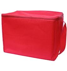 Transportväska för vinglas Röd