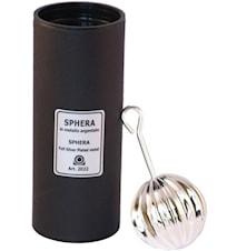 Sphera- Karaffvinluftare silverpläterad