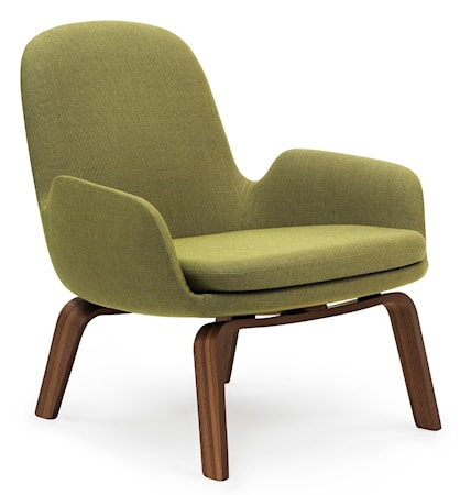 Normann Copenhagen Era Lounge Chair Low Walnut - Breeze Fusion