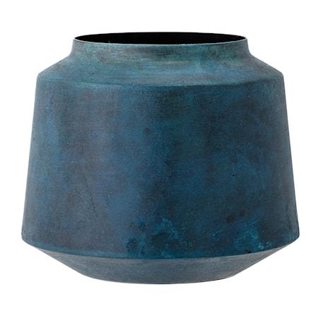Bloomingville Vaasi Sininen Metalli 13,5x18cm