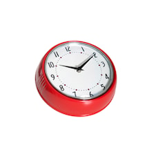Klocka, röd