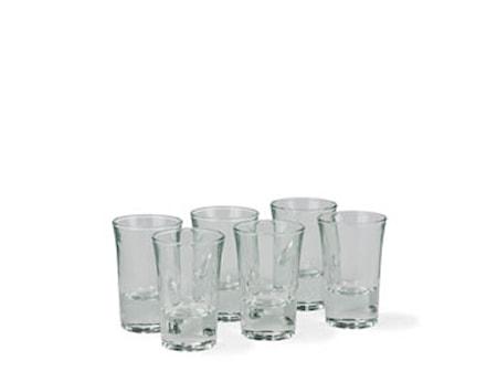 Shotglas 6st 3,5cl