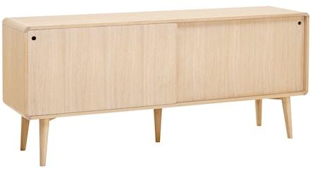 CASØ Furniture CASØ 500 skänk - Vitoljad ek/eklådor