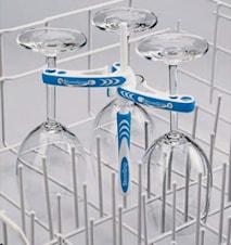 Stem Grip- Mobilt diskmaskinsställ för glas