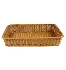 Brödkorg 53x32,5 cm, brun