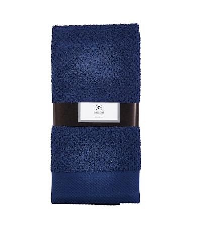 Galzone Håndklæde - 100% bomuld - 400 g - Mørkeblå - L 100,0cm - B 50,0cm - Sleeve - Stk. thumbnail