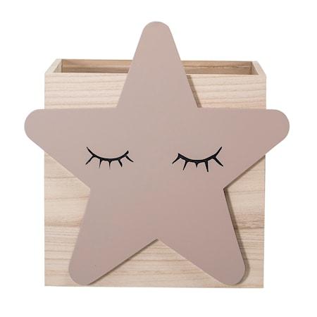Bloomingville Leksakslåda Audrey - Stjärna