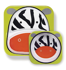 Skip Hop Zoo Tallrikar Zebra
