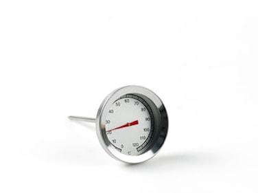 Steketermometer rund 530 stål Plus termometre