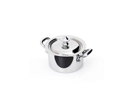 Mauviel Cook Style Gryde med låg 0,3L blank stål thumbnail