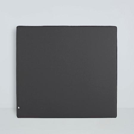 Mille Notti Alexandra sänggavel linen - 105 cm, Mörkgrå