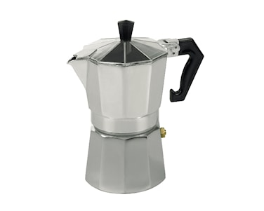 Espressokanna Aluminium 6 koppar
