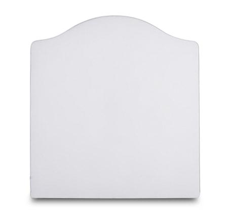 Mille Notti Carlita canvas sänggavel ? Vit 120x140