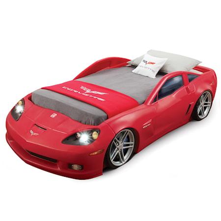 Step2 Corvette säng med strålkastare