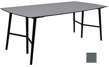 RGE Perstorp 150 matbord - Virrvarr/svart