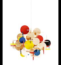 Bau Lampa Multifärgad L
