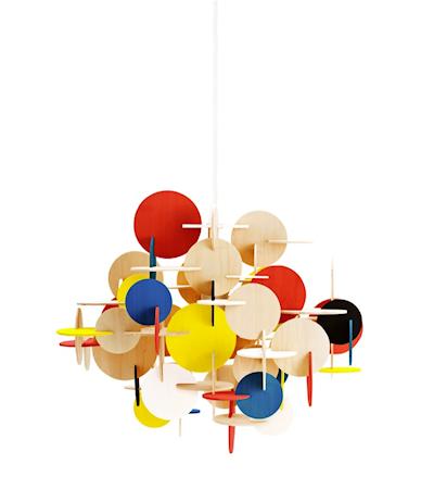 Normann Copenhagen Bau Lamppu Monivärinen L